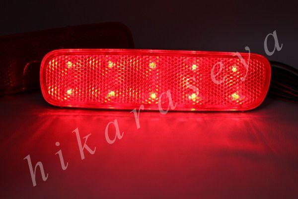 光ってなければ純正品 光れば明るく綺麗 拘りの加工法で長寿命 光るリフレクターならひからせ屋製純正加工品で決まり 1年保証 無段階減光調整 評判 スイッチ付で即純正復帰 純正加工LEDリフレクターランプ 20発仕様 HDJ101K UZJ100W ランクル 新作からSALEアイテム等お得な商品 満載 ランドクルーザー シグナス 100系