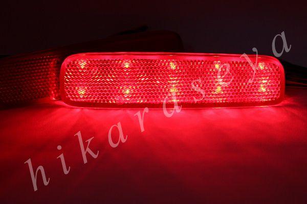 【1年保証】【無段階減光調整】【スイッチ付で即純正復帰】純正加工LEDリフレクターランプ(20発仕様) C26 セレナ ライダー