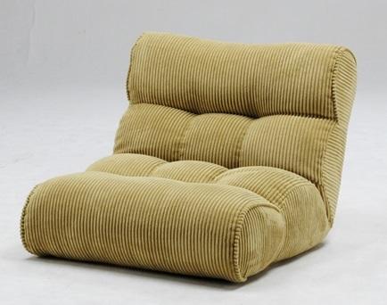 送料無料 座椅子 座いす 座イス ザイス ソファ リクライニング ロー フロア 1人掛け 1P ポケットコイル 柔らかい やわらかい ふかふか 包み込まれる かわいい 幅80 ピグレット Piglet グリーン
