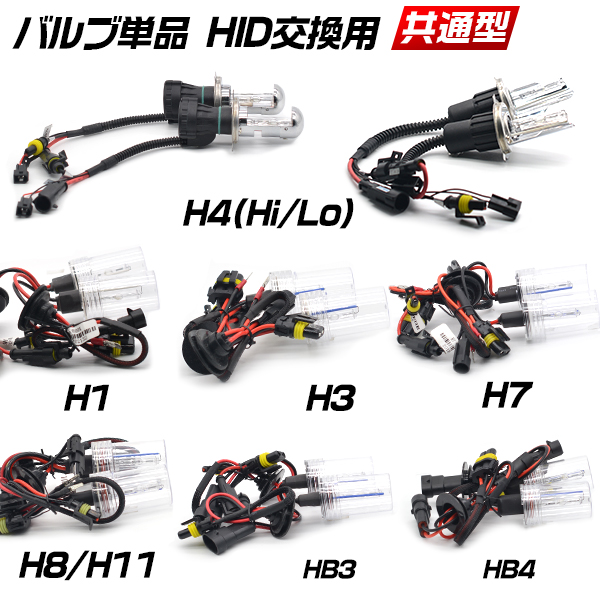 ◆ time limited sale target ◆ HID 35 W 55 W replacement gold (3000 k) pink  (13000 k) purple (15000 k) green (17000 k) blue (30000 k) H1 H3 H3c H7 H8