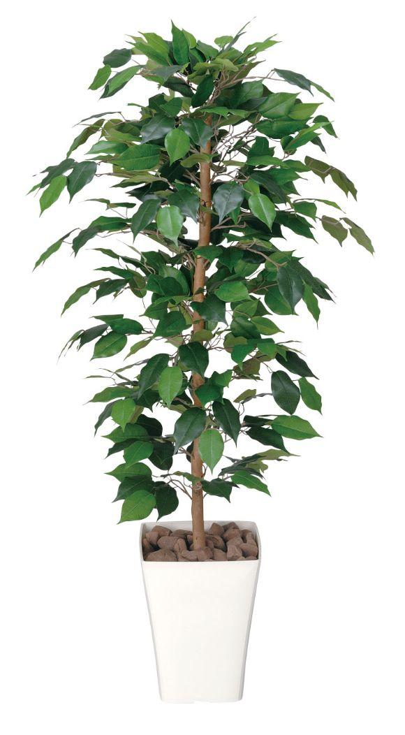 光触媒 観葉植物 光の楽園 フィカスベンジャミン 高さ1.2m【インテリアグリーン 人工観葉植物 人工樹木 人工植物】