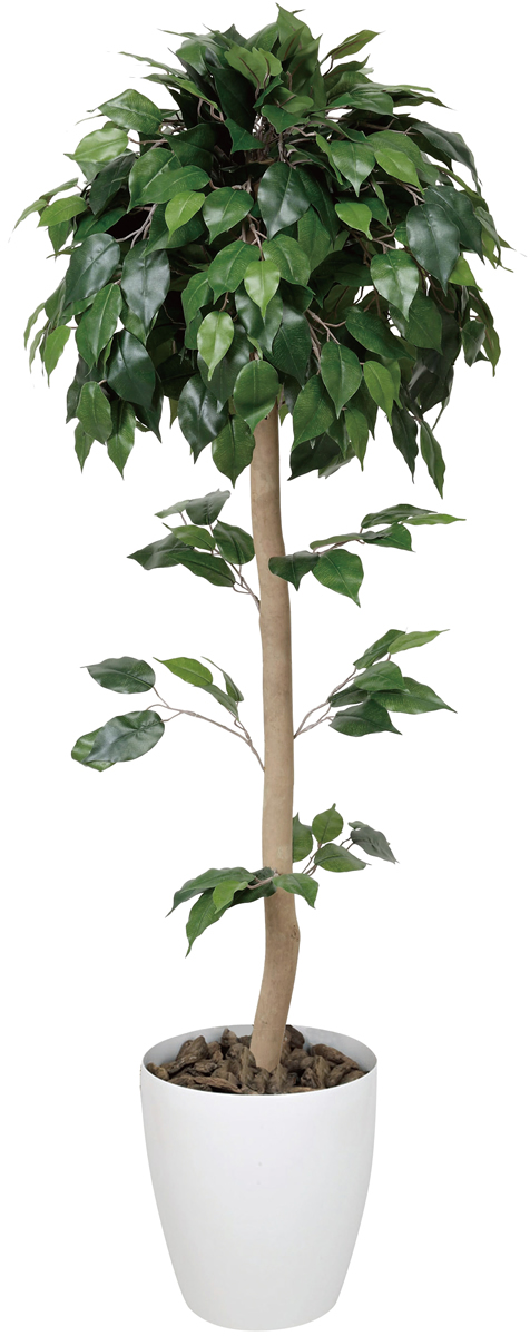 ベンジャミントピアリー 高さ1.2m【光触媒 観葉植物 人工観葉植物 造花】
