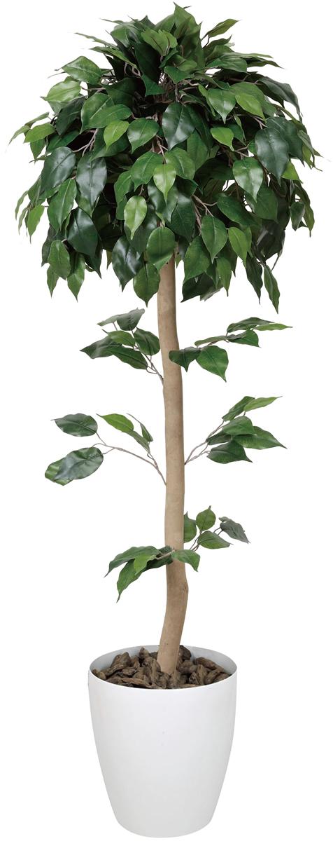ベンジャミントピアリー 高さ1.5m【インテリア 人工観葉植物 光触媒 観葉植物 光の楽園】