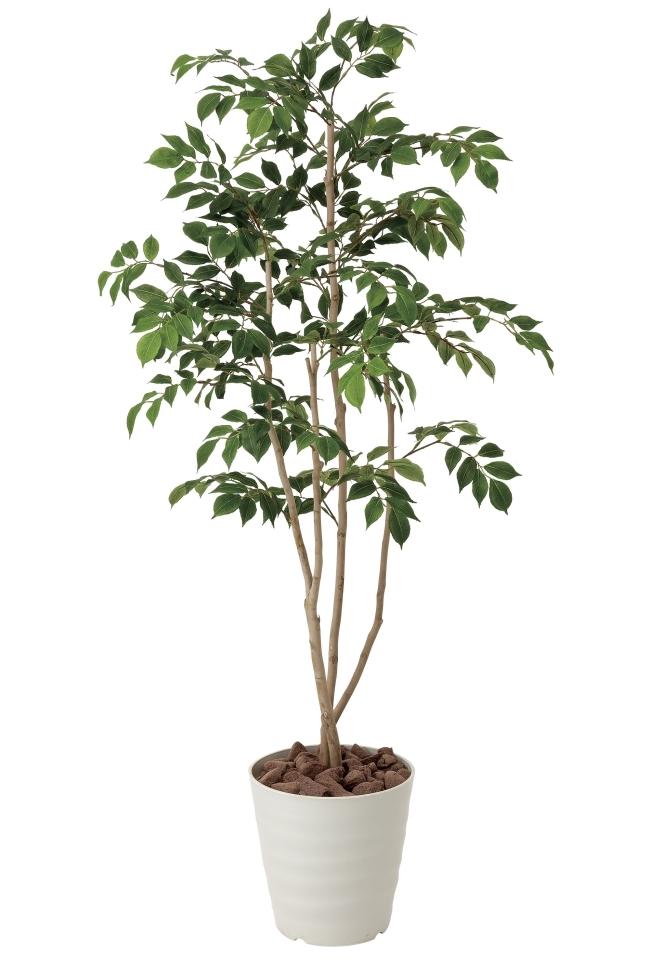 光触媒 光の楽園マウンテンアッシュ1.3m【インテリアグリーン 人工観葉植物】