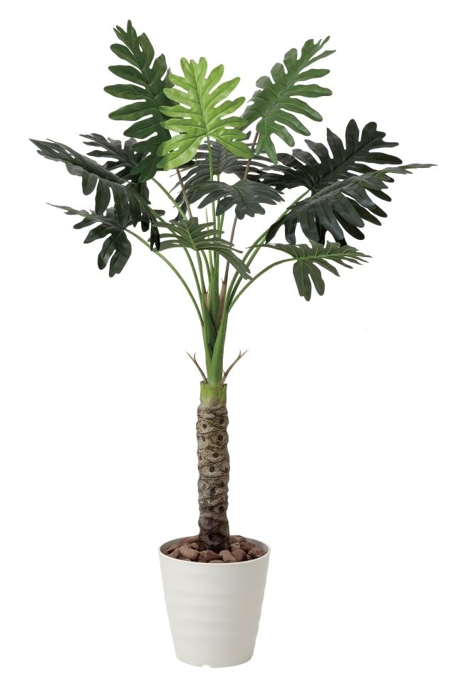 光触媒 光の楽園セローム1.3m【インテリアグリーン 人工観葉植物】