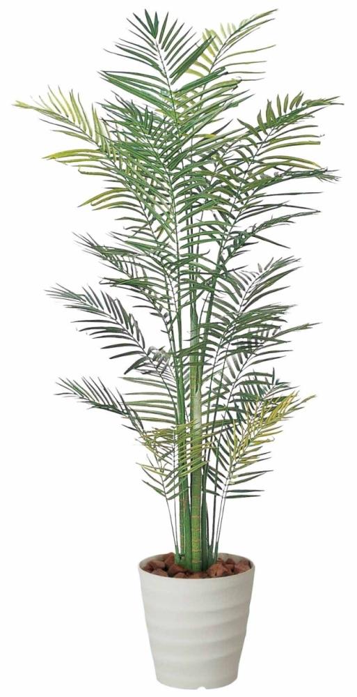 光触媒 光の楽園 トロピカルアレカパーム 2.1m【インテリアグリーン 人工観葉植物】