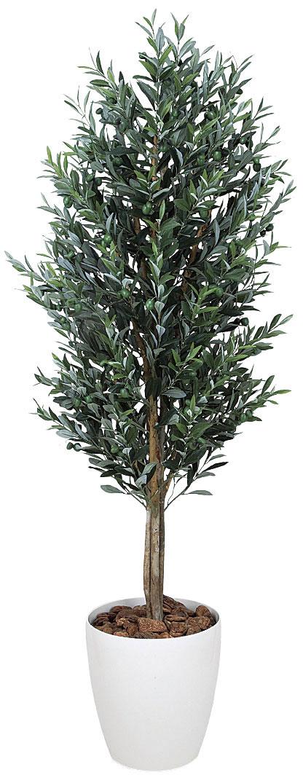光触媒 光の楽園 オリーブ 高さ1.6m【インテリアグリーン 人工観葉植物 大型 観葉植物】