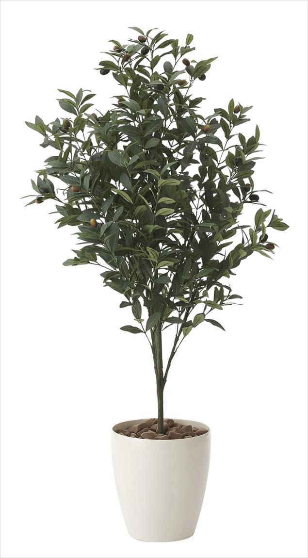 光触媒 光の楽園 オリーブ1.1m【インテリアグリーン 人工観葉植物】