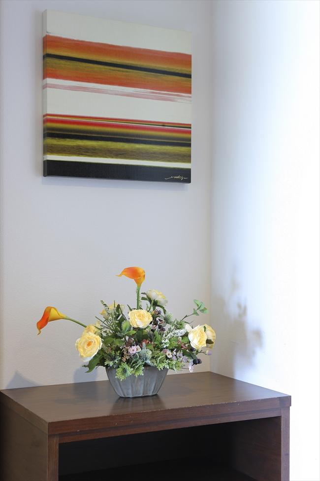 光触媒 造花光の楽園 エミリーカラーフラワーアレンジメント