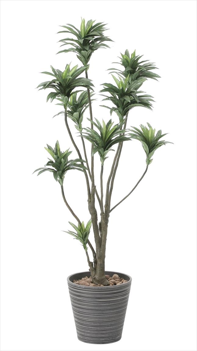 光触媒 人工観葉植物光の楽園 ドラセナ1.5mインテリア フェイクグリーン