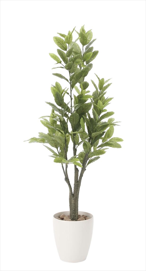 光触媒 人工観葉植物光の楽園 レモン1.25mインテリア フェイクグリーン