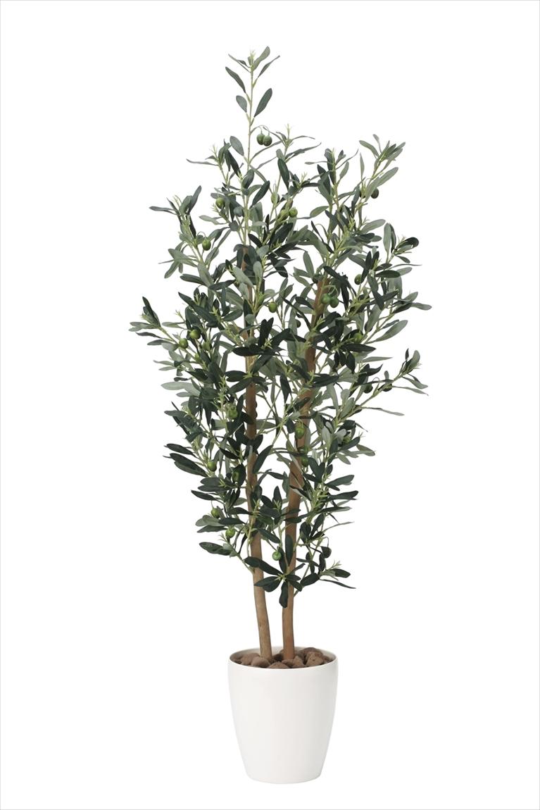 光触媒 人工観葉植物光の楽園 オリーブ1.2mインテリア フェイクグリーン