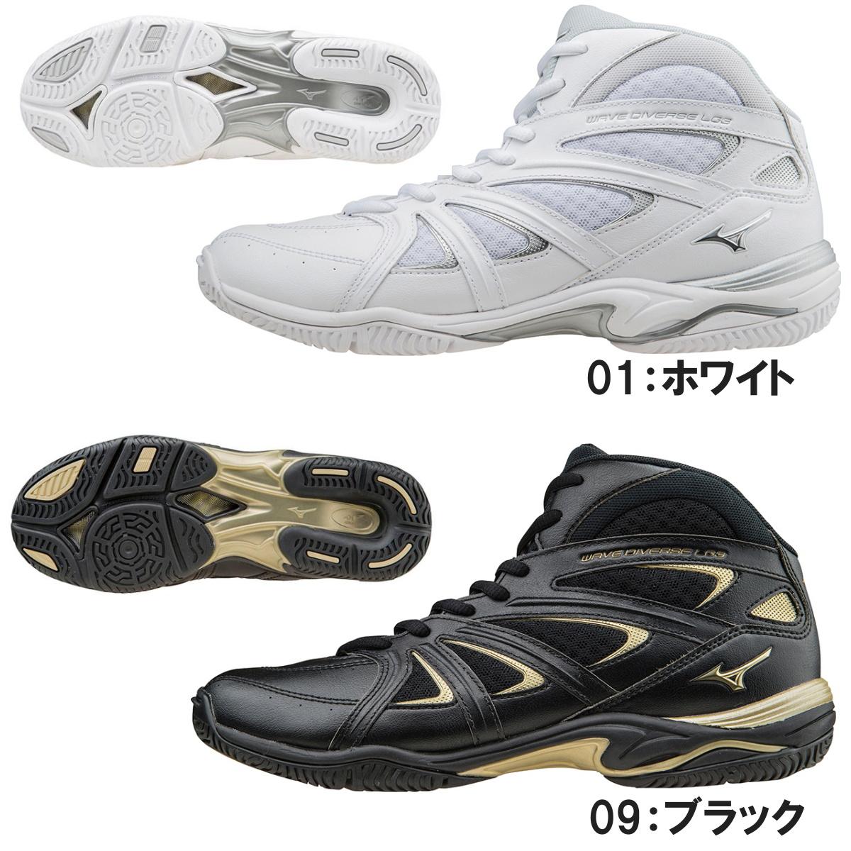 【送料無料】MIZUNO ミズノ フィットネスシューズ WAVE DIVERSE ウェーブダイバースLG3 K1GF1571