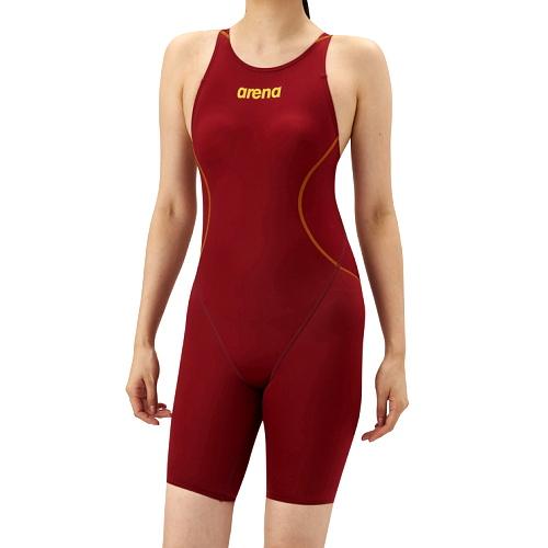競泳水着レディースfina承認アリーナARENAハーフスパッツクロスバックオールインワンX-PYTHON2女性用競泳大会マスターズ水泳部部活レース水着入門モデルARN-7020W