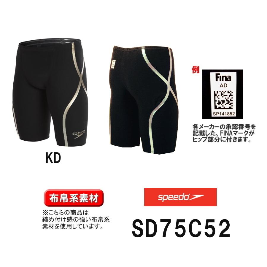 【ポイント10倍/送料無料】スピード SPEEDO 競泳水着 メンズ 男性用 FASTSKIN LZR RACER X メンズハイウエストジャマー SD75C52