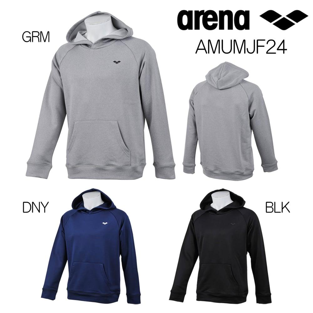 《今すぐ使えるクーポン配布中》アリーナ ARENA パーカー ソフトテリー 2018年秋冬モデル AMUMJF24-HK