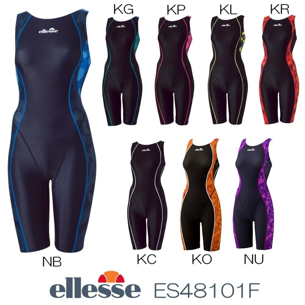 エレッセ ellesse 競泳水着 レディース オールインワン fina承認 ウルトラストレッチFINA ES48101F