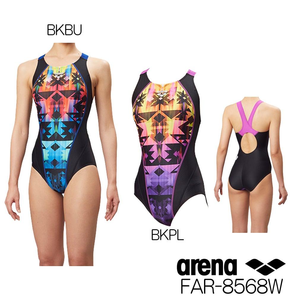 アリーナ ARENA 競泳水着 レディース fina承認 セイフリーバック(着やストラップ) UROKOSKIN ST 2018年秋冬モデル FAR-8568W