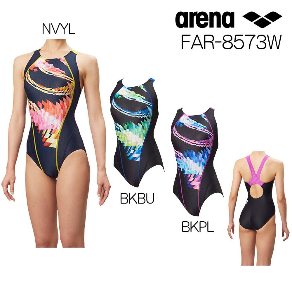 アリーナ ARENA 競泳水着 レディース fina承認 セイフリーバック(着やストラップ) UROKOSKIN ST 2018年秋冬モデル FAR-8573W