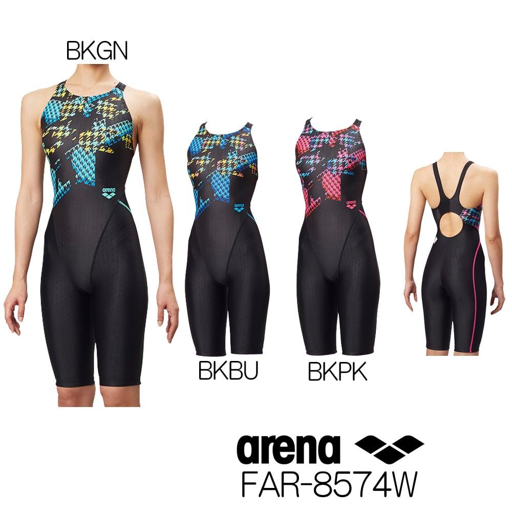 アリーナ ARENA 競泳水着 レディース fina承認 セイフリーバックスパッツ NUX-FD 2018年秋冬モデル FAR-8574W