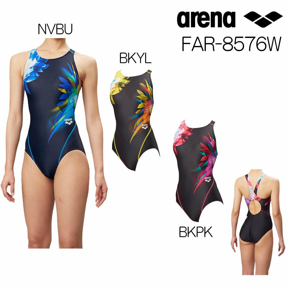 アリーナ ARENA 競泳水着 レディース fina承認 セイフリーバック 着やストラップ UROKOSKIN 2018年秋冬モデル FAR-8576W