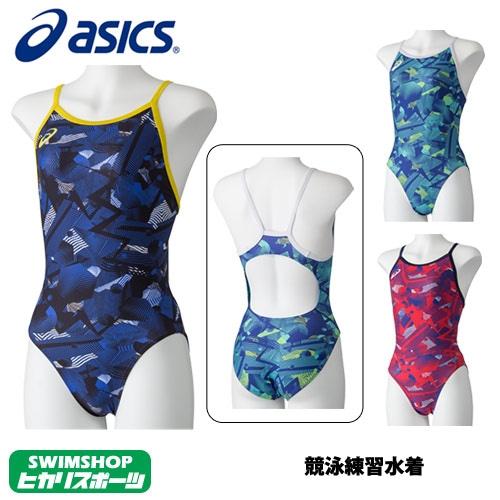 アシックス asics 競泳水着 レディース 練習用 レギュラー 競泳練習水着 2019年春夏モデル 2162A028