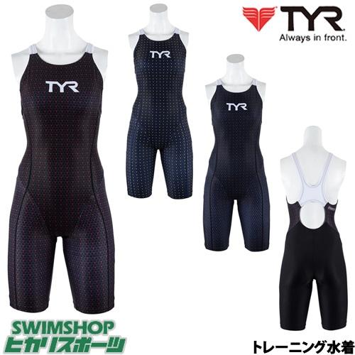 ティア TYR トレーニング水着 レディース ショートジョン 2019年春夏モデル SHEXA-19S