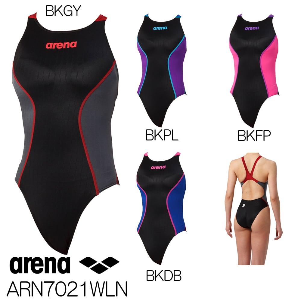 0f5d9ddad1e アリーナ ARENA 競泳水着 レディース fina承認 リミックタイプロウ クロスバック X-PYTHON2 2019年春夏モデル  ARN7021WLN