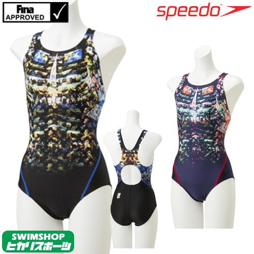 スピード SPEEDO 競泳水着 レディース FINA承認 コンフォカットスーツ FLEX Σ 2019年春夏モデル SCW01916F