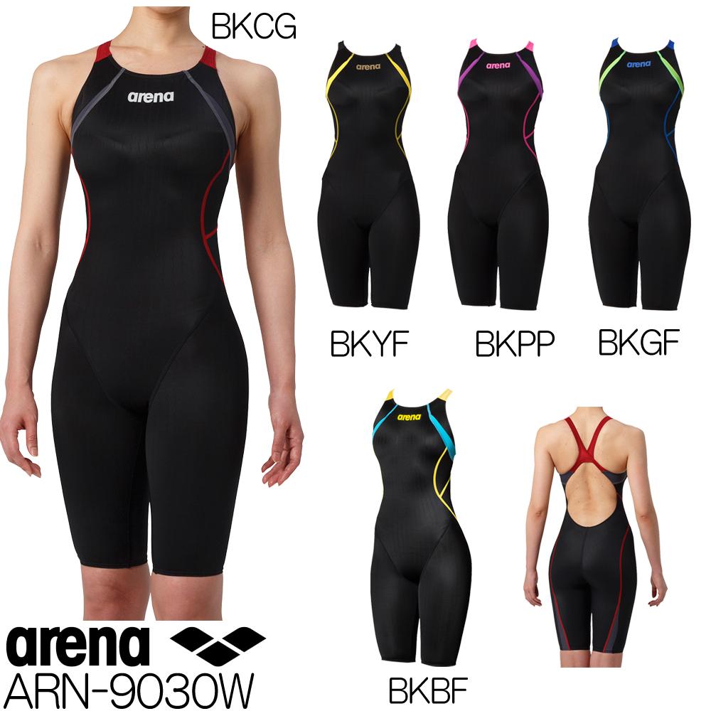 46625e4d0eba25 女性用 FINA承認 スパッツ アリーナ ARENA 競泳水着 レディース fina承認 ハーフスパッツ クロスバック X-PYTHON2 ARN -9030W