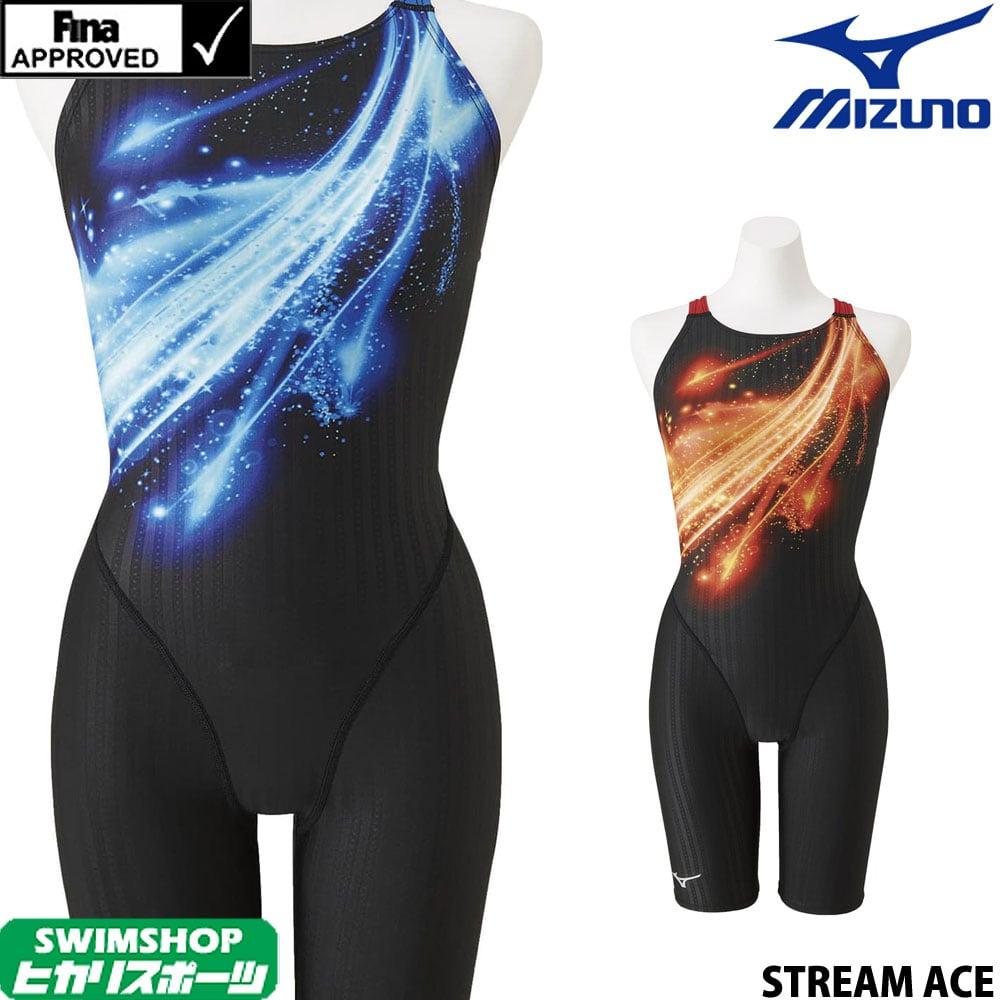 【クーポン利用で更にお値引き】ミズノ MIZUNO 競泳水着 レディース fina承認 ハーフスーツ(マスターズバック) STREAM ACE ストリームエース 2020年春夏モデル N2MG0252