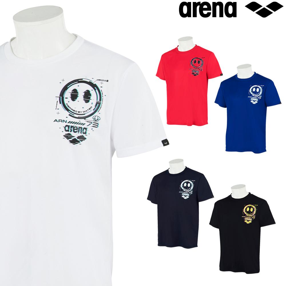 アリーナ スポーツアパレル ウェア トレーニング 超激得SALE クーポン利用で更にお値引き ARENA バックメッシュ メンズ アリーナ君 AMURJA53 2021年秋冬モデル Tシャツ 世界の人気ブランド