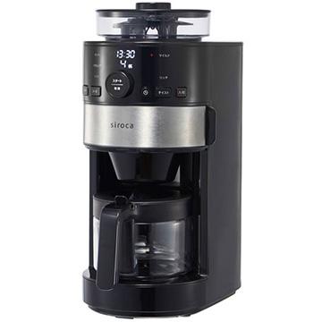 シロカ 販売実績No.1 販売実績No.1 siroca コーン式全自動コーヒーメーカー SC-C111