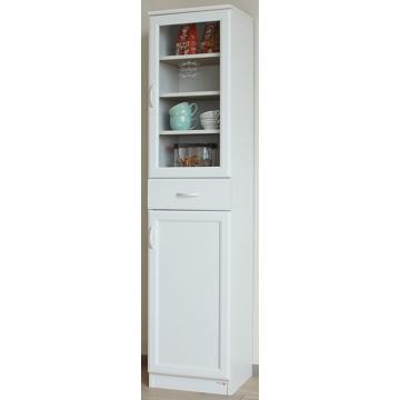 白井産業 ■セシルナ 食器棚 カップボード ホワイト CEC-1840DGH