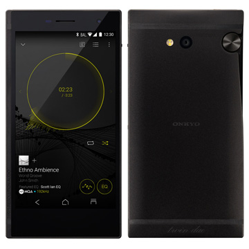 ONKYO デジタルオーディオプレイヤー/SIMフリースマートフォンGRANBEATハイレゾ対応ブラック DP-CMX1(B)