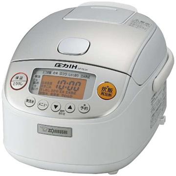象印 圧力IH炊飯器 極め炊き 3合炊き ホワイト NP-RL05-WA
