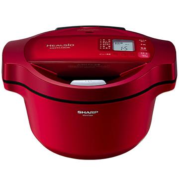 シャープ ヘルシオ ホットクック 水なし自動調理鍋 レッド KN-HT99A-R