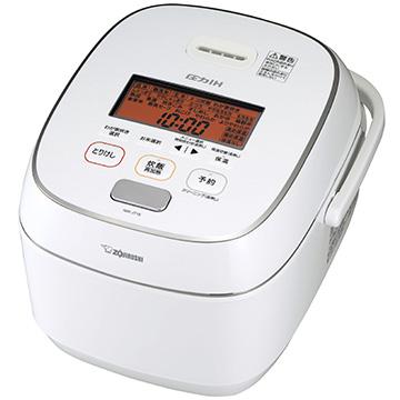 象印圧力IH炊飯器プレミアム対流1升炊きホワイトNW-JT18-WA