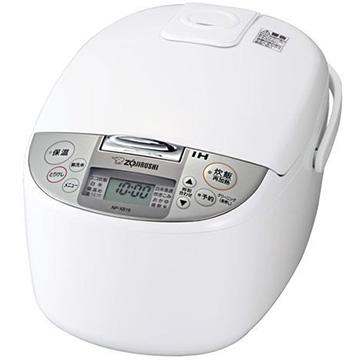 【エントリーで+P5倍(4日20:00-10日23:59まで)】象印 IH炊飯器 1升炊き ホワイト NP-XB18-WA