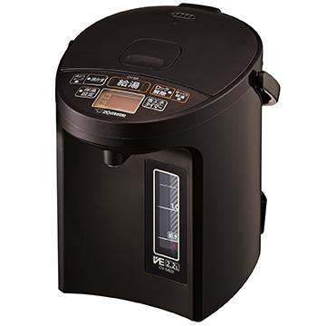 象印 VE電気まほうびん 2.2L ブラウン CV-GB22-TA