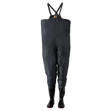 ロゴスコーポーレーション ■クレモナ水産 胴付き長靴 鉄紺 24.5cm