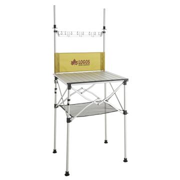 ロゴスコーポーレーション ■smart LOGOS kitchen クックテーブル(風防付き)