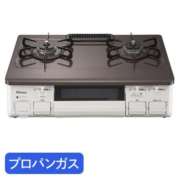 パロマ ●ガステーブル 59cm あじわざ プロパンガス(LP) 左強火力 IC-N86BHA-L-LPG