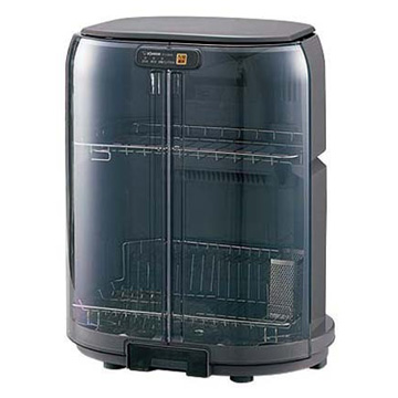 【枚数限定クーポン発行中!】 象印 タテ型省スペース食器乾燥機 グレー EY-GB50-HA
