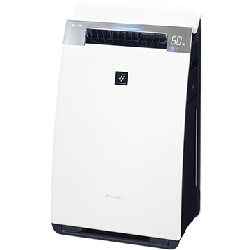 【期間限定 エントリーでP5倍】 シャープ 加湿空気清浄機 ハイグレードモデル プラズマクラスター25000 ホワイト KI-HX75-W