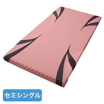 nishikawa ■AiR マットレス ピンク 高反発 厚み8cm セミシングル クイーンサイズ対応 HC99401625