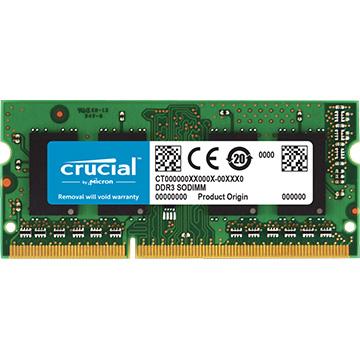 Crucial 内蔵メモリ 着後レビューで 送料無料 4GB SODIMM (人気激安) DDR3L-1600 CT51264BF160B