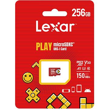 Lexar PLAY microSDXCカード LMSPLAY256G-BNNNG 256GB お求めやすく価格改定 並行輸入品 アイテム勢ぞろい