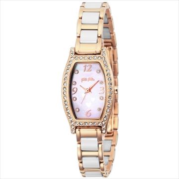フォリフォリ ■腕時計 WINTERWISHES ホワイト WF14B022BSW