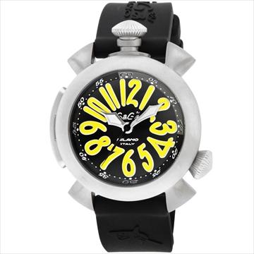 GaGa MILANO ■腕時計 DIVING48MM ブラック 5040.2-BLKRUBBER